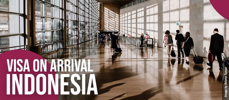 Visa On Arrival Jakarta Bali Indonesia