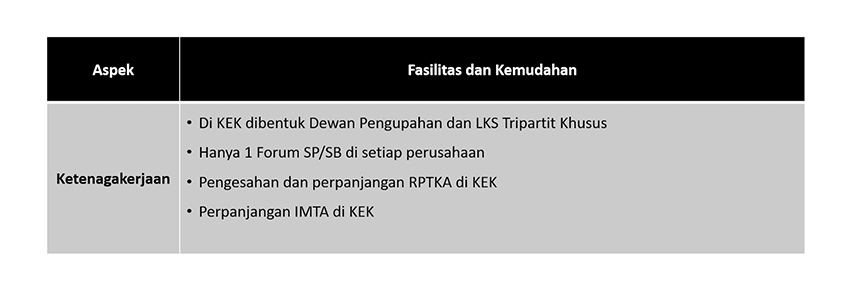 Manpower Aspects (Indonesia)